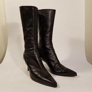 Miu Miu pointy toe boots